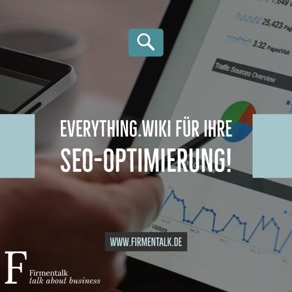 Everything.wiki für Ihre SEO-Optimierung!